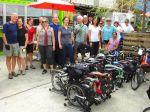 Group photo at DeKalb Market