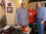 Three Wise Men of Typewriter Repair (Paul Schweitzer /Gramercy Typewriter Co., Michael Ardito /Hometown Business Machine, Tom Furrier / Cambridge Typewriter Co.) ...