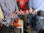 and their hands together with over 100 years of typewriter repair experiences keeping manual typewriters alive!